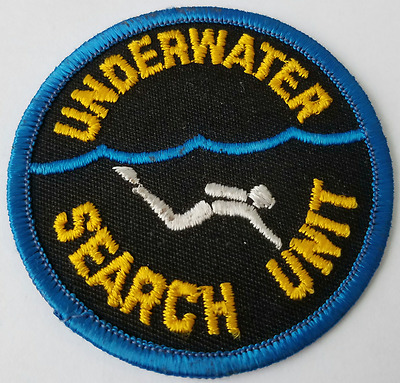 Underwater Search Unit Cloth Patch