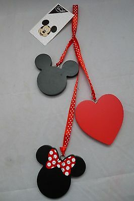 New with Tags - Disney - Mickey & Minnie Mouse Hanging Ornament/Decoration