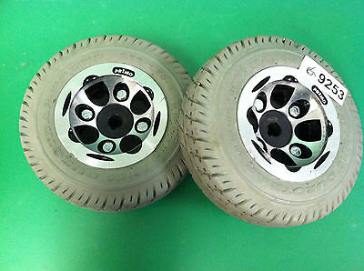 Wheels Invacare Zoom 300 Scooter  2.80/2.50-4  ~set of 2~  #9253