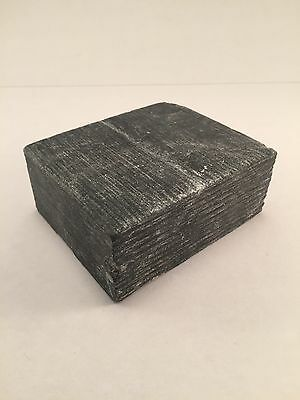 Soapstone Block 3.5x3x1.5inches