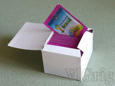 2014 FIFA Word Cup WC WM Brasil sticker PANINI - sealed box 100 PINK packets