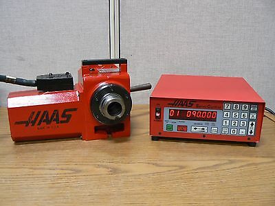 HAAS HA5C 17 Pin Rotary Indexer W Manual Closer And Haas Servo Controller