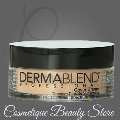 DERMABLEND Cover Creme SPF 30 Chroma GOLDEN BRONZE, 1 oz. NEW IN BOX