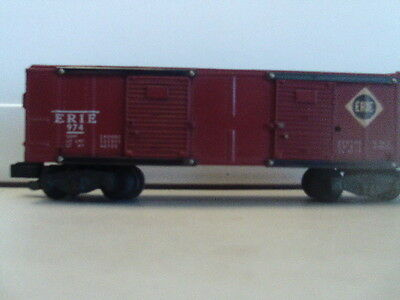 AMERICAN FLYER 974 ERIE Box Car very rare operating car in this condition