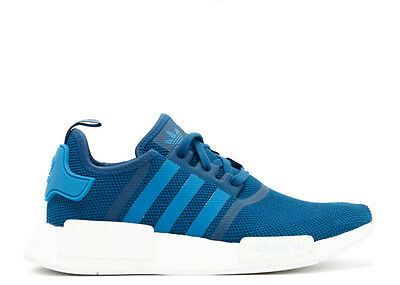 free shipping be954 e9e68 Adidas NMD R1 Blue White S31502 Size 11.5-12