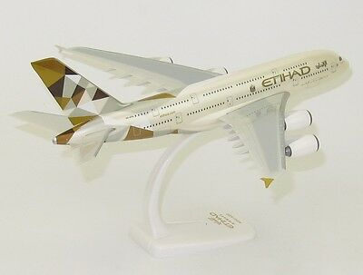 Etihad Airways Airbus A380 Official Plastic Snap Fit Model PPC