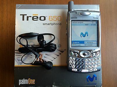 PALM ONE TREO 650 Smartphone. New Locked Movistar. Nuevo bloqueado Movistar