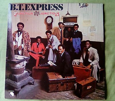 B.T. Express - Function at the Junction TOP RARE LP Funk,Soul Italy Press 1977
