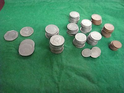 Coins from Jordan  Lot of 122 Coins