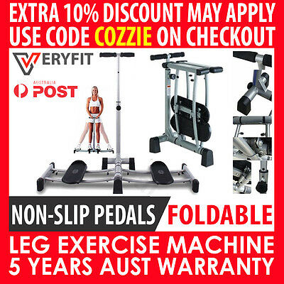 Genuine Veryfit Leg Master Exercise Slimming Magic Foldable Stepper Fitness Gym