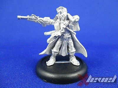 Gun Mage Captain Adept – Metal – Missing Arm [x1] Cygnar [Warmachine] Assembled