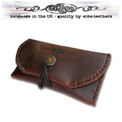 Handmade Leather Tobacco Pouch - simple but tough