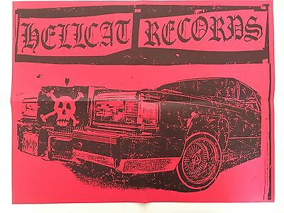 Hellcat Poster Stickers Iron-on transfers Post cards Rancid NOFX Mad Ball Punk