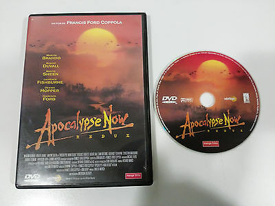 Apocalypse Now Redux Dvd Francis Ford Coppola Marlon Brando Español English