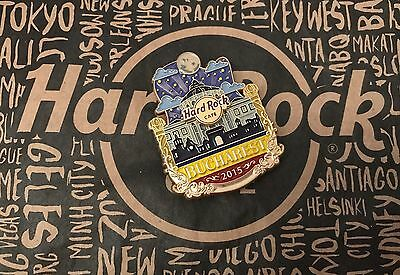 Hard Rock Cafe HRC BUCHAREST CITY ICON SERIES Pin Bukarest Bucuresti SOLD OUT