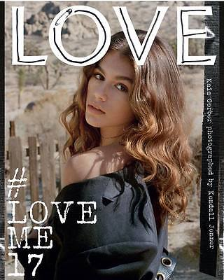 LOVE Magazine Issue 17 Spring/Summer 2017 - Kaia Gerber by Kendall Jenner