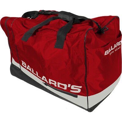 Ballards NEW MX Dirt Bike Too Easy Red Travel Luggage Gear Bag