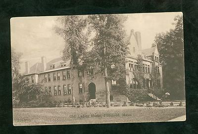 Picture Post Card 1907 Old Ladies Home, Pittsfield, MA