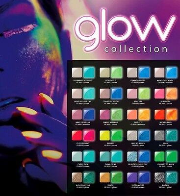Glam & Glits - GLOW in the DARK acrylic powder color
