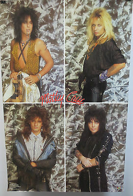 Motley Crue Poster By Funky Enterprises Rock & Roll Metal Dr Feelgood Girls