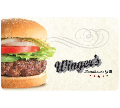 Winger's Roadhouse Gift Card - $25, $50 or $100 Email delivery