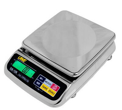 Intelligent GS-12K Washdown Stainless Steel Portion Scale 12X0.002 kg,Brand New