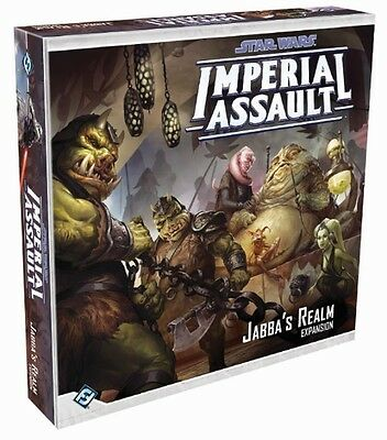 Star Wars Imperial Assault Jabba's Realm Expansion  - BRAND NEW