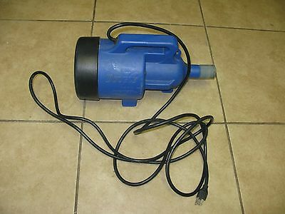 Double K 2000 Forced Air Dryer Variable Speed blue