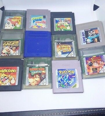 Juegos Game Boy / Color Nintendo Pokemon Azul Amarillo Warioland Donkey Kong Gbc