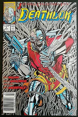 Deathlok #1 (1991 Marvel) Nm