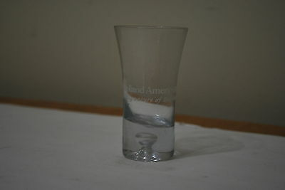 Holland America Line flared Shot Glass - 3 1/2 inch tall NICE!!!