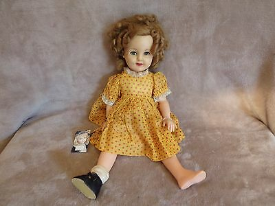 """Shirley Temple Ideal Doll ST-19 (18"""" Long)"""