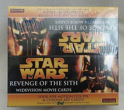 Star Wars TOPPS Widevision Revenge of the Sith 24/pkRETAIL BOX Movie Card SEALED