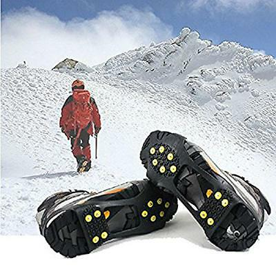 HOT Silicone Anti Slip Shoes Cover/Anti-Slip Ice Grippers/Snow Crampons-Unisex