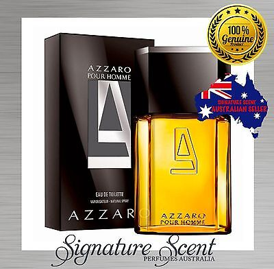 AZZARO POUR HOMME 100ml EDT AZZARO Spray BRAND NEW CHEAP men BNIB