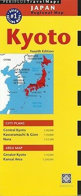 Periplus Kyoto Travel Map (Japan) *FREE SHIPPING - NEW*