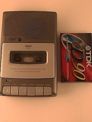 RCA RP3503 Cassette Recorder - Tested Working Free Shipping