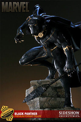 NEW!!  SIDESHOW EXCLUSIVE BLACK PANTHER Premium Format! Worldwide shipping!