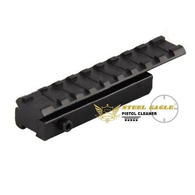 Scope 3/8 to 7/8 Inch adapter picatinny weaver rail 11mm-20mm mount for Rifle
