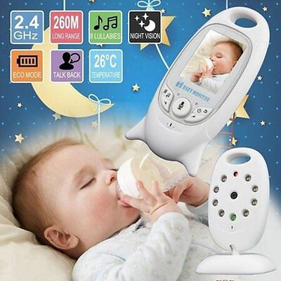 2.4GHZ Wireless Baby Digital Signal Transmission Night Vision Monitor Camera XC