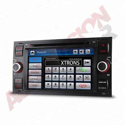 "XTRONS Car DVD Player Stereo Radio 7"" GPS Sat Nav CANBUS Ford Focus C-Max Mondeo"