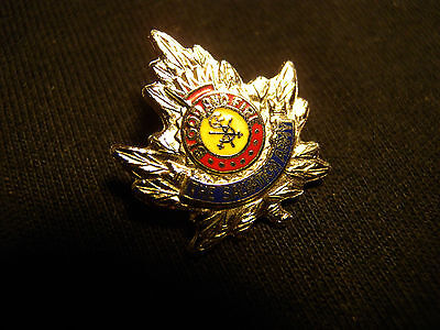Salvation Army Lapel Pin / Badge  S.a. Blood And Fire Canada Bond Boyd Sterling
