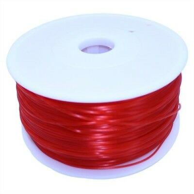 Dockwell 3D Printer PLA Filament 1.75mm 1kg Transparent Red DW-PLA175T1A-RED