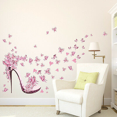 UK Butterfly Removable Wall Art Sticker Vinyl Decal DIY Room Home Mural Decor