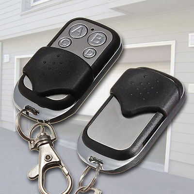 2 x Garage Door Remote Control Key Fob Gate 315mhz 433.92mhz Wireless Duplicator