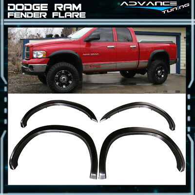02-08 Ram 1500 03-09 Ram 2500 3500 OE Factory Style 8 FT Fender Flares 4PC - PP