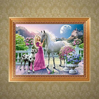 DIY Beauty Horse 5D Diamond Embroidery Painting Cross Stitch Home Wall Decor