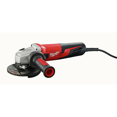 Milwaukee 611733D 5 in. 13 Amp Small Angle Grinder w/ Lock-On and Dial Speed New