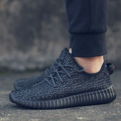 Men's YEEZY Sneakers Sport shoes Breathable Running Shoes casual Athletic black