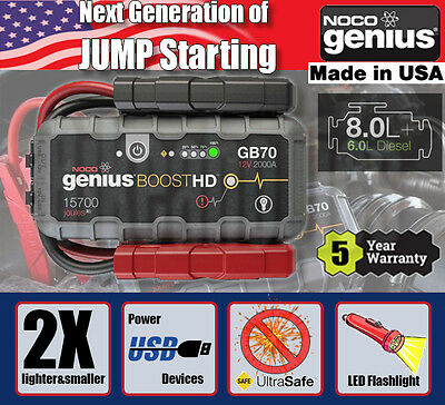 NOCO GB70 Boost Pack Jump Starter- Simson S 53 OR 50 4-gear Off Road - 1993